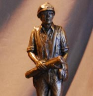 Construction Worker statue