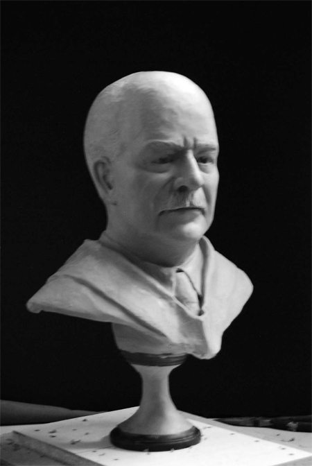 Sam Brooks bust