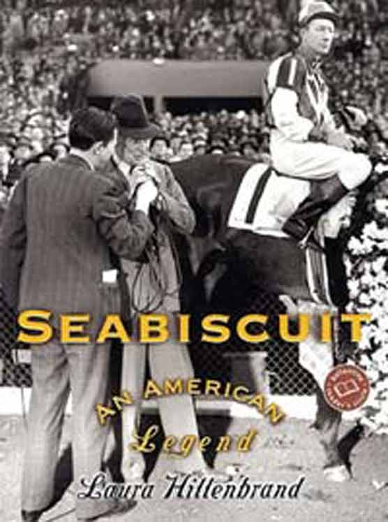 seabiscuit movie vs book Owner and trainer needed a jockey sturdy enough to handle their new purchase, a rough, tempestuous colt named seabiscuit main | book | author | movie | slideshow.