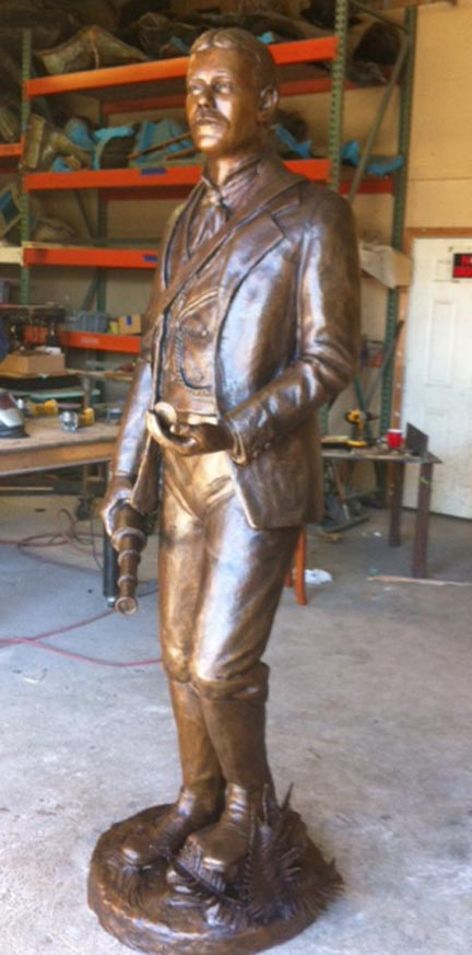 Sigtryggur Jonasson Bronze statue monument for Canada